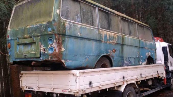 ついに廃バスをゲット