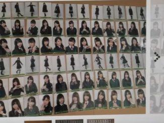 コンプリートした欅坂46の『二人セゾン』生写真をヤフオクに出品