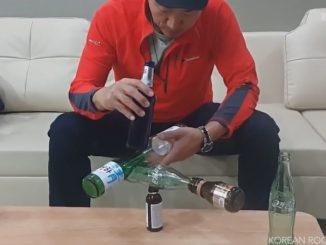 驚異のバランス感覚を見せる韓国人バランスアーティストRocky Byun(변남석)氏