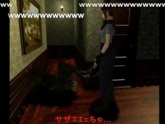 バイオハザードのゲーム内音声でサザエさんのエンディング曲を作り替え