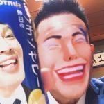 もしもこけしとSNOWしたら…柳沢慎吾がアプリで色々なモノと顔交換