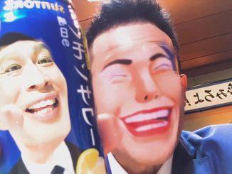SNOWアプリで顔を入れ替える柳沢慎吾