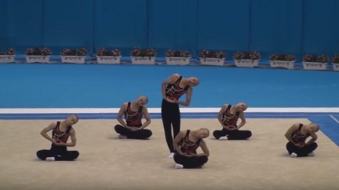 鹿児島実業の男子新体操は、誰もが楽しめると話題