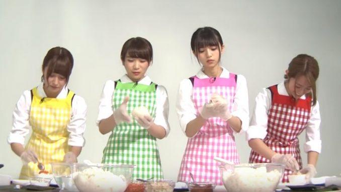 乃木坂メンバーがおにぎりを作るほっこり動画