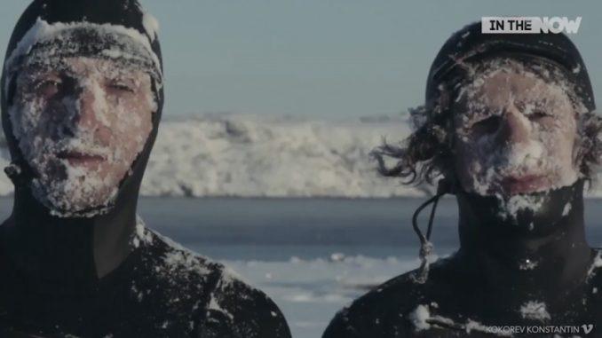 極寒の海に負けないサーフィン愛を持つ二人