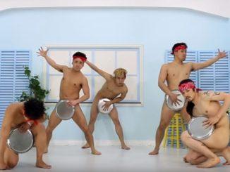 アキラ100%のネタ、丸腰刑事でブレイクダンスを踊るGOODmen
