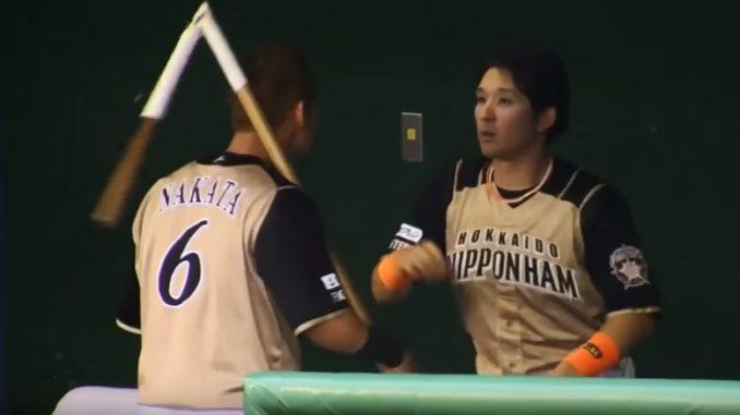 日ハム中田翔選手にストレッチ用ポールを折られた杉谷拳士選手