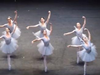 ウィーン国立歌劇場の絶対に揃わないバレエ