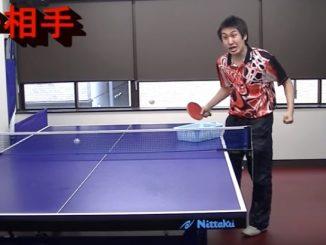 卓球あるあるをテンポ良く進めていくぴんぽん